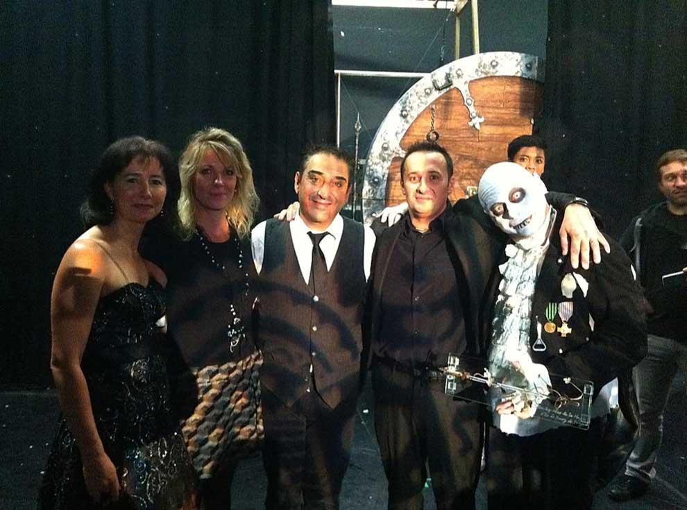 Dani Lary et son équipe