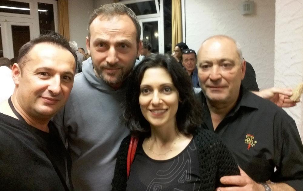 Kenris et Aurélia Murat, et Thierry Marion
